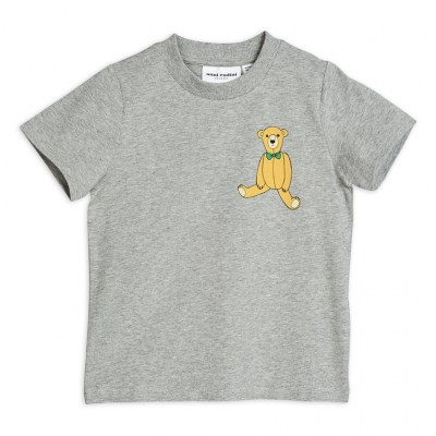 Mini Rodini Teddy SP Tee Grey Melange