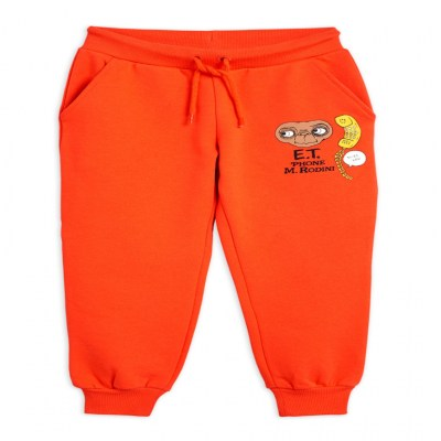 Mini Rodini E.T. Sweatpants Red
