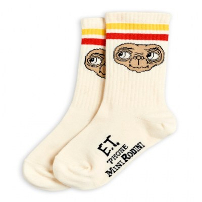 Mini Rodini E.T. Socks Offwhite