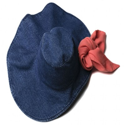Wolf and Rita Hat Carolina Blue Denim